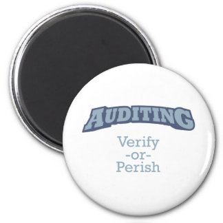 Auditing / Verify 2 Inch Round Magnet