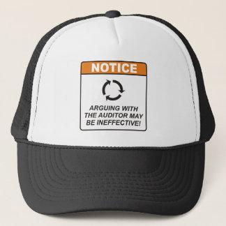 Auditor / Argue Trucker Hat