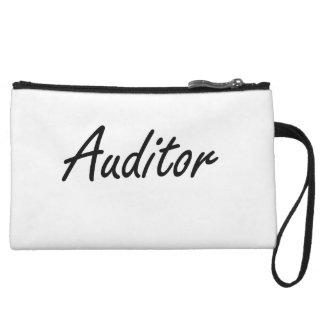 Auditor Artistic Job Design Wristlet Clutch