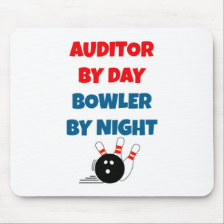 Auditor by Day Bowler by Night Mouse Pad