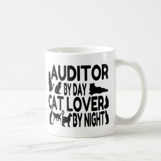 Auditor Cat Lover Classic White Coffee Mug