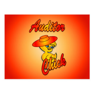 Auditor Chick #5 Post Cards