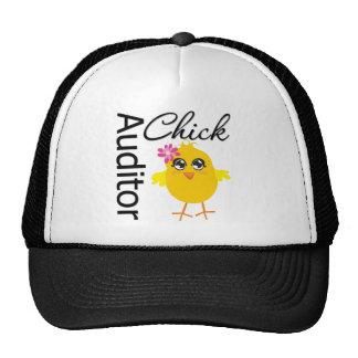 Auditor Chick Trucker Hat