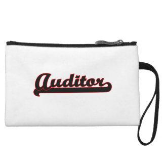 Auditor Classic Job Design Wristlet Clutches