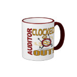 Auditor Clocked Out Coffee Mug
