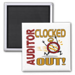 Auditor Clocked Out Refrigerator Magnet