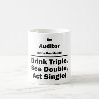 auditor coffee mug
