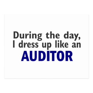 AUDITOR During The Day Postcard