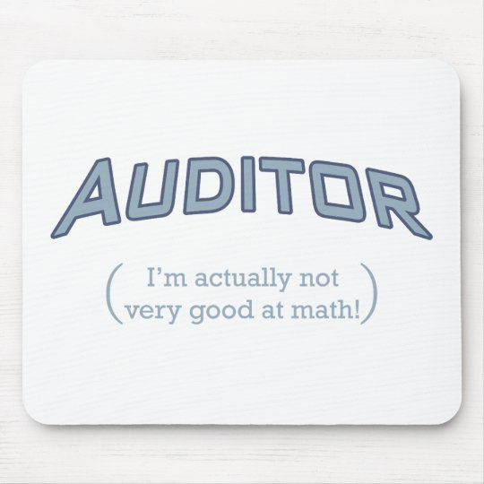 Auditor - Math Mouse Pad