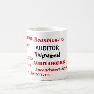 Auditor Nicknames Mug