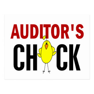 Auditor's Chick Post Cards