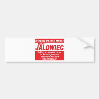 Auditoría de la muestra de la campaña de Jalowiec  Pegatina Para Auto