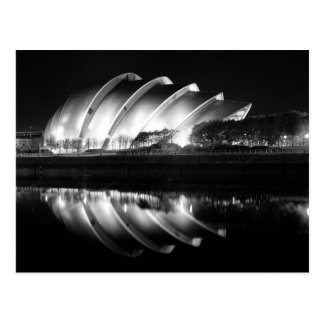 Auditorio de Clyde en Glasgow Tarjeta Postal
