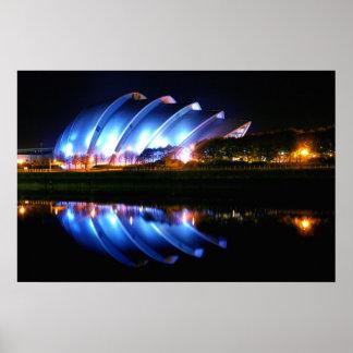 Auditorio de Glasgow Clyde Póster