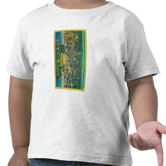 Auditorio municipal en la playa camiseta