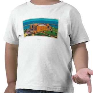 Auditorio municipal en Long Beach California Camisetas