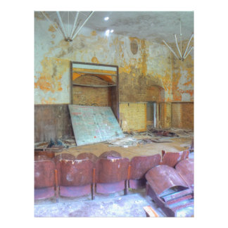 Auditorium 01.0, Lost Places, Beelitz Letterhead