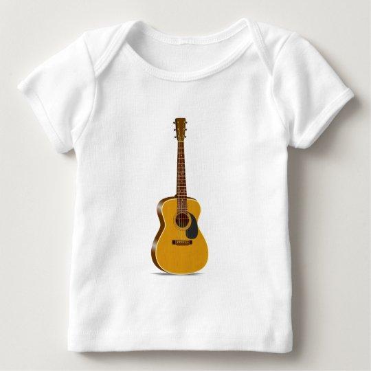 Auditorium Acoustic Guitar Baby T-Shirt