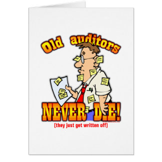Auditors Card