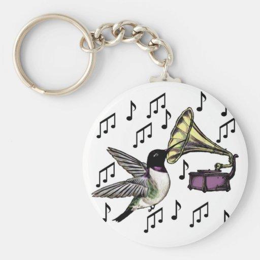 Auditory Nectar Basic Round Button Keychain