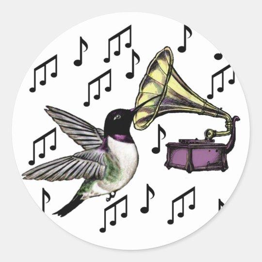 Auditory Nectar Classic Round Sticker