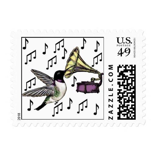 Auditory Nectar Stamp