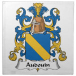 Audouin Family Crest Napkin
