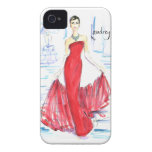 Audrey Awesomeness Case-Mate iPhone 4 Case