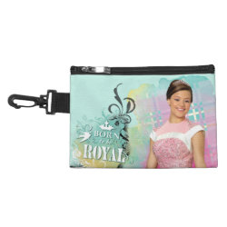 Clip On Accessory Bag with Descendants Audrey: Born to Be Royal design