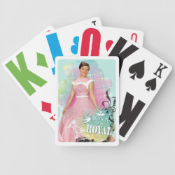 Playing Cards with Descendants Audrey: Born to Be Royal design