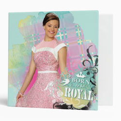 Avery Signature 1' Binder with Descendants Audrey: Born to Be Royal design