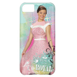 Case-Mate Barely There iPhone 5C Case with Descendants Audrey: Born to Be Royal design