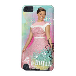 Case-Mate Barely There 5th Generation iPod Touch Case with Descendants Audrey: Born to Be Royal design