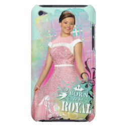 Case-Mate iPod Touch Barely There Case with Descendants Audrey: Born to Be Royal design