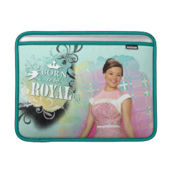 Macbook Air Sleeve with Descendants Audrey: Born to Be Royal design