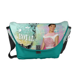 Rickshaw Medium Zero Messenger Bag with Descendants Audrey: Born to Be Royal design