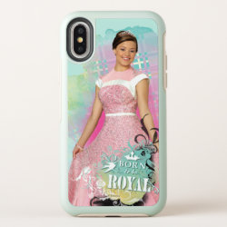 OtterBox Apple iPhone X Symmetry Case with Descendants Audrey: Born to Be Royal design