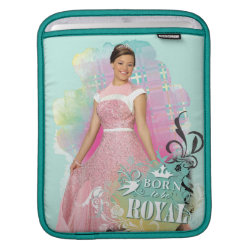 iPad Sleeve with Descendants Audrey: Born to Be Royal design