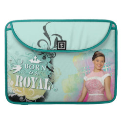 Macbook Pro 15' Flap Sleeve with Descendants Audrey: Born to Be Royal design