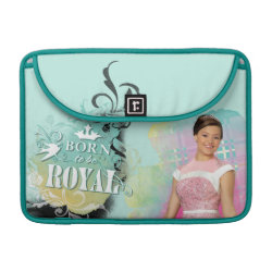 Macbook Pro 13' Flap Sleeve with Descendants Audrey: Born to Be Royal design