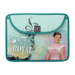 Macbook Pro 13' Flap Sleeve with Descendants Audrey: Born to Be Royal design