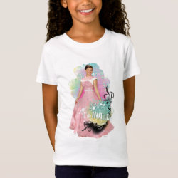 Girls' Fine Jersey T-Shirt with Descendants Audrey: Born to Be Royal design