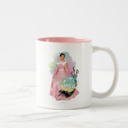 Two-Tone Mug with Descendants Audrey: Born to Be Royal design