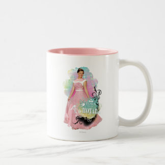 Audrey - Born To Be Royal Two-Tone Coffee Mug