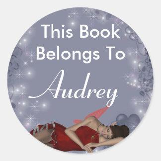 Audrey Classic Round Sticker