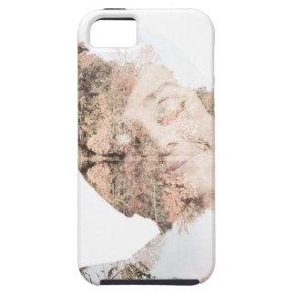 Audrey Double Exposure Print iPhone SE/5/5s Case