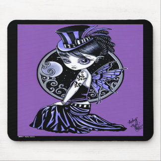 """Audrey"" Gothic Victorian Fairy Mousepad"
