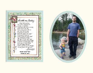 Fathers Day Poem Baby Kids Zazzle