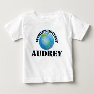 Audrey más caliente del mundo playeras