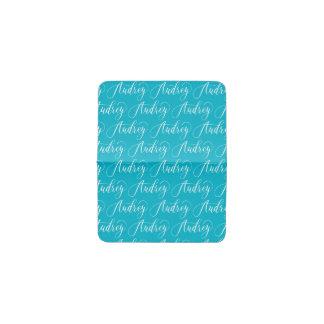 Audrey - Modern Calligraphy Name Design Business Card Holder